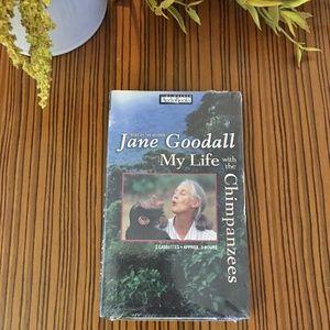 Jane Goodall My Life w/the Chimpanzees Audio Book